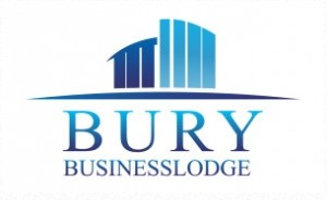 Bury Business Lodge's new logo after a huge rebranding.